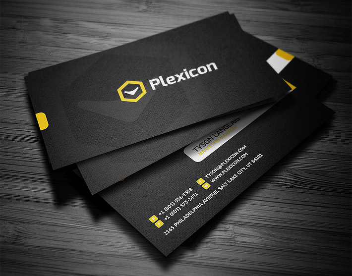 Cool Custom Business Card Template CardRabbitcom - Creative business card templates