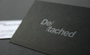 Cool Letterpress Business Card – De-tached