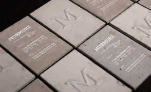 Unique Business Cards from Concrete