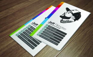 Cool Business Card – Jeff Rikhotso