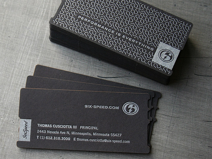 Square letterpress business card chef boulder cardrabbit cool custom letterpress card six speed square business reheart Image collections