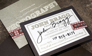 Creative Business Card – John Bragg