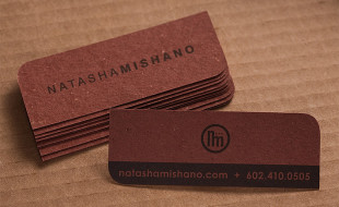 Custom Business Card - Natasha Mishano
