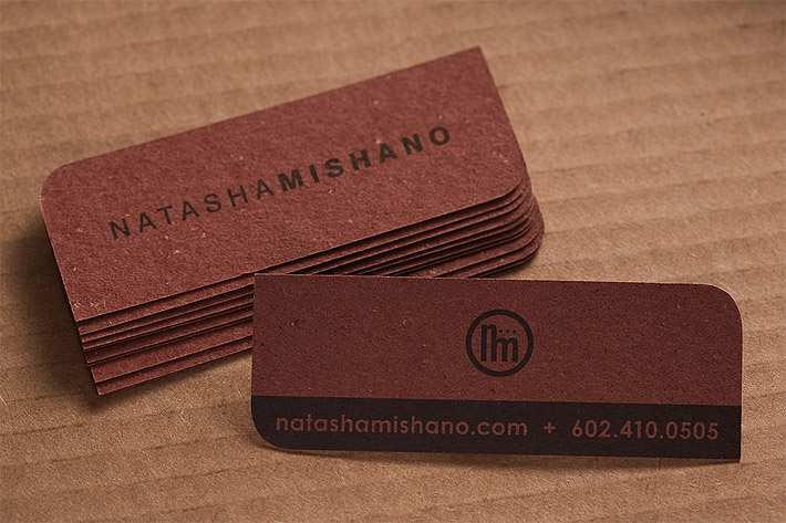 Custom Business Card – Natasha Mishano