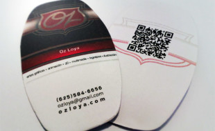 Custom Business Card - Oz Loya