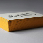Cool Letterpressed Business Card – Fenwick Pythons