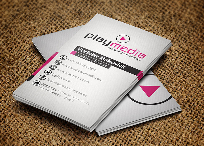 Cool business card template by jorge limaz cardrabbit inshare fbccfo