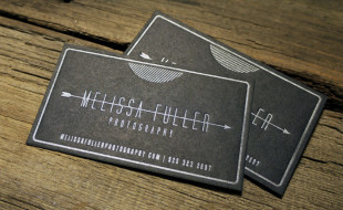 Cool Letterpress Business Card – Melissa Fuller