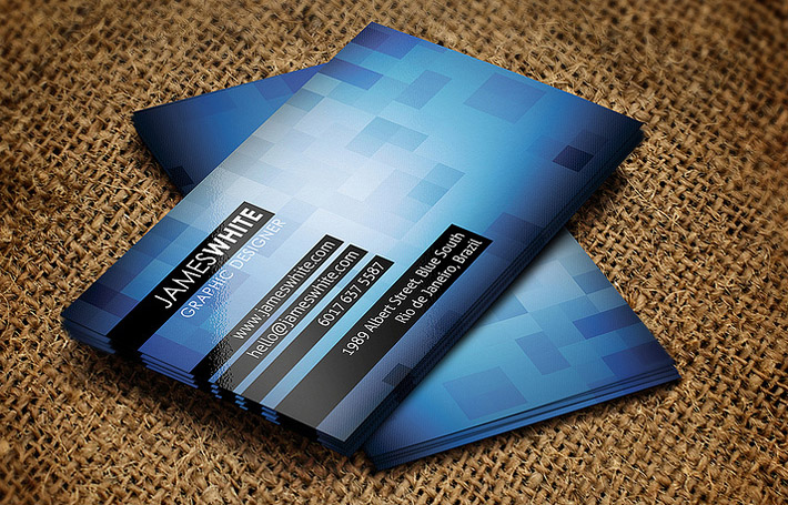 Creative business card design template cardrabbit inshare reheart