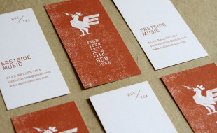 Creative Business Card - East Side Music