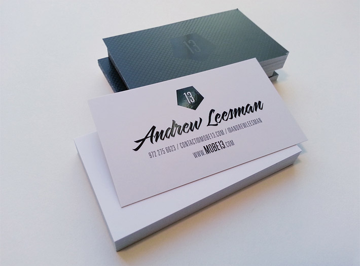 Custom Business Card – Andrew Leesman