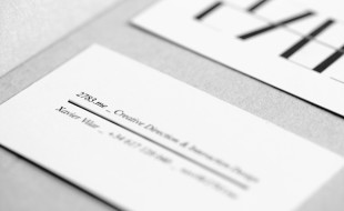 Minimalistic Business Card - 2783