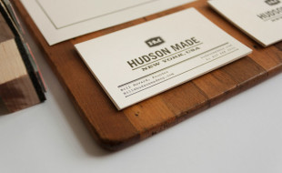Minimalistic Business Card - Hudson Made
