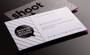 Unique Business Card - Austin Walsh