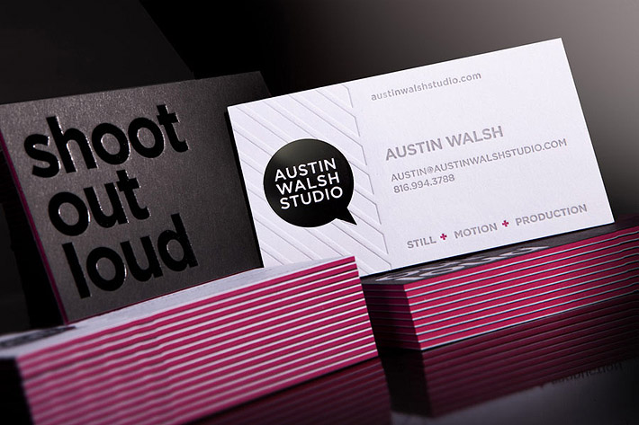 Unique Business Card – Austin Walsh