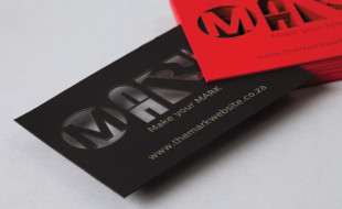 Unique Business Card - Mark