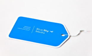Custom Business Card - Blue Sky Media