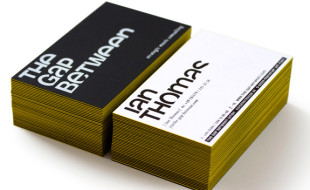 Unique Business Card - The Gap Between