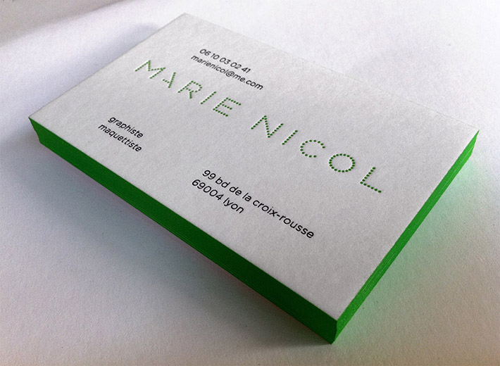 Cool Business Card – Marie Nicol