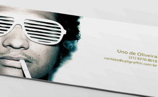 Cool Business Cards - Caligraffiti