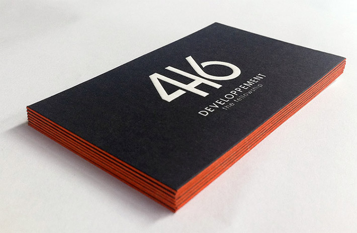 Cool letterpress business card 416 cardrabbit inshare colourmoves Gallery