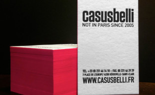 Cool Letterpress Business Card - Casusbelli