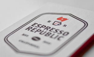 Cool Letterpress Business Card – Espresso Republic