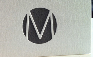 Cool Letterpress Business Card - Le Marais