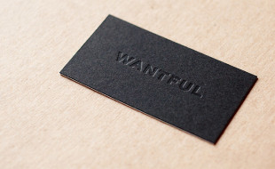 Cool Letterpress Business Card – Wantful