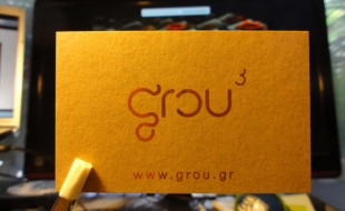 Cool Minimalistic Business Card - Grou