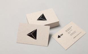 Cool Minimalistic Business Card - Upp