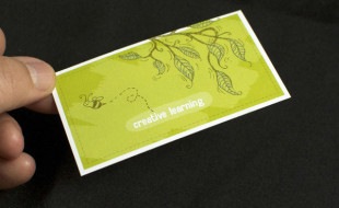 Creative Business Card - L'atelier for Children
