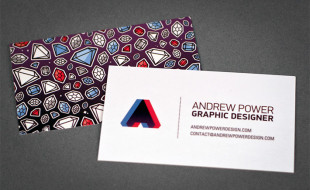 Creative Business Cards - Andrew Power