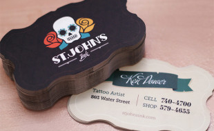 Creative Custom Business Cards – St. Johns Ink