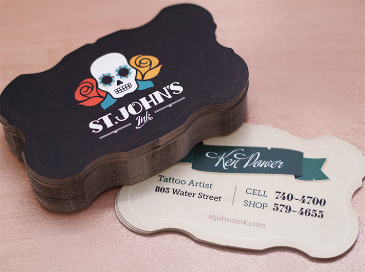 Creative Business Card – Tattoo Artist | CardRabbit.com