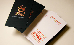 Custom Business Cards - Chicos Chicken