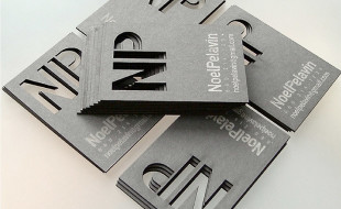 Laser Cut Business Cards - Noel Pelavin