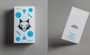 Letterpress Business Card - Daniel Brokstad
