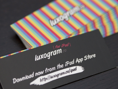 Mini business cards luxogram cardrabbit inshare reheart Image collections