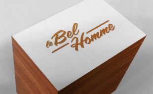 Simple Letterpress Business Card - Le Bel Homme