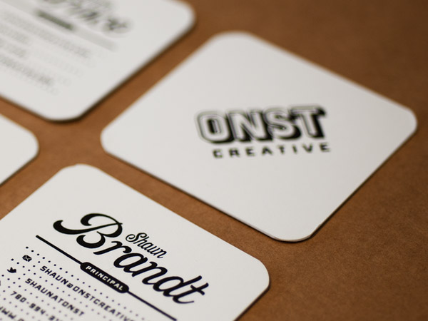 Square business cards onst creative cardrabbit inshare reheart Gallery