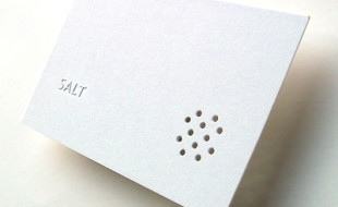 Unique Business Card - Salt