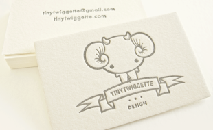 Unique Business Card - TinyTwigette
