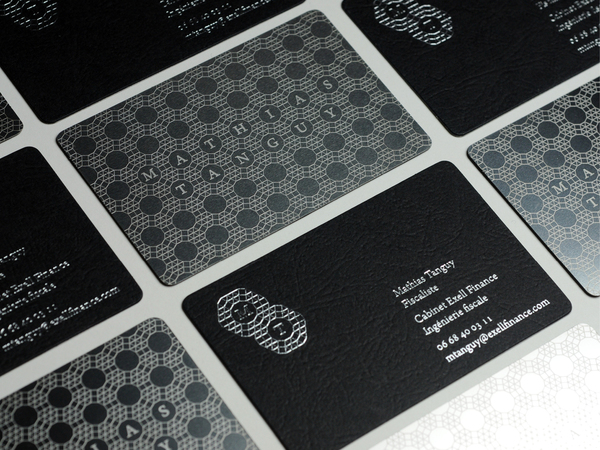unique cool business card mathias tanguy. Black Bedroom Furniture Sets. Home Design Ideas