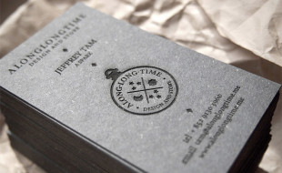 Unique Laser Etched Business Cards - ALongLongTime