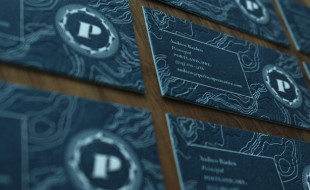 Unique Letterpress Business Card – Periscope