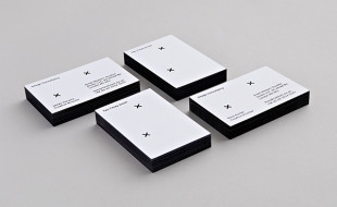 Unique Minimalistic Business Card - Two Times Elliott