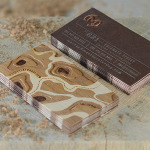 Unique Wood Veneer Business Cards – Mackey Saturday