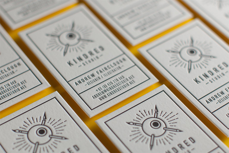cool-letterpress-business-card-kindred