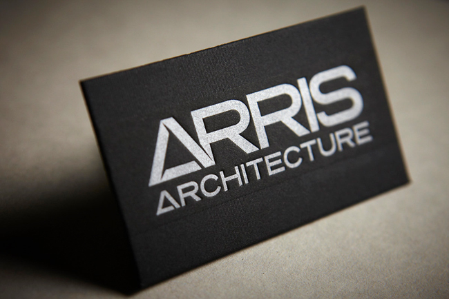 Cool Business Cards Arris Architecture